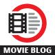 Movie Blog Logo - GraphicRiver Item for Sale