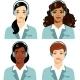 Women Call Center Operator  - GraphicRiver Item for Sale