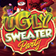 Ugly Sweater Party Flyer Template - GraphicRiver Item for Sale