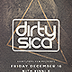Minimalistic Deep House Flyer - GraphicRiver Item for Sale