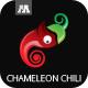 Chameleon Chili Logo - GraphicRiver Item for Sale