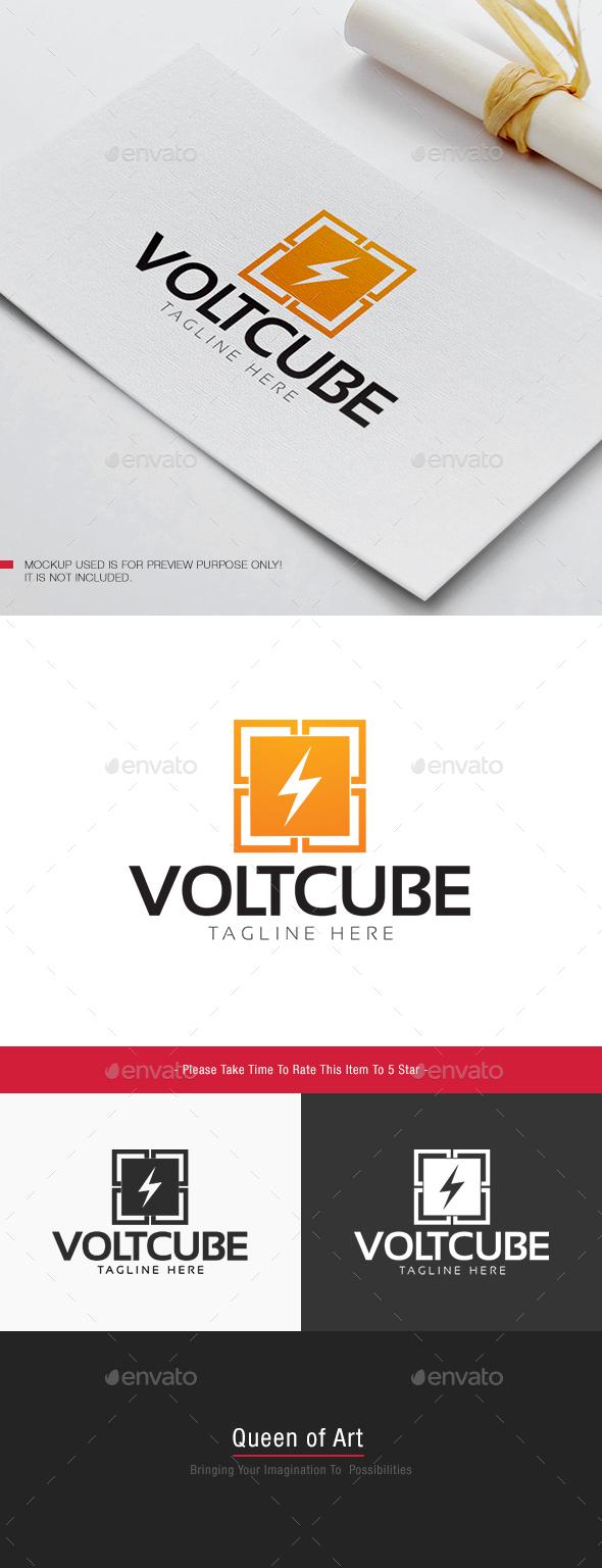 Volt Cube Logo