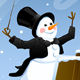 Snowman Conductor - GraphicRiver Item for Sale
