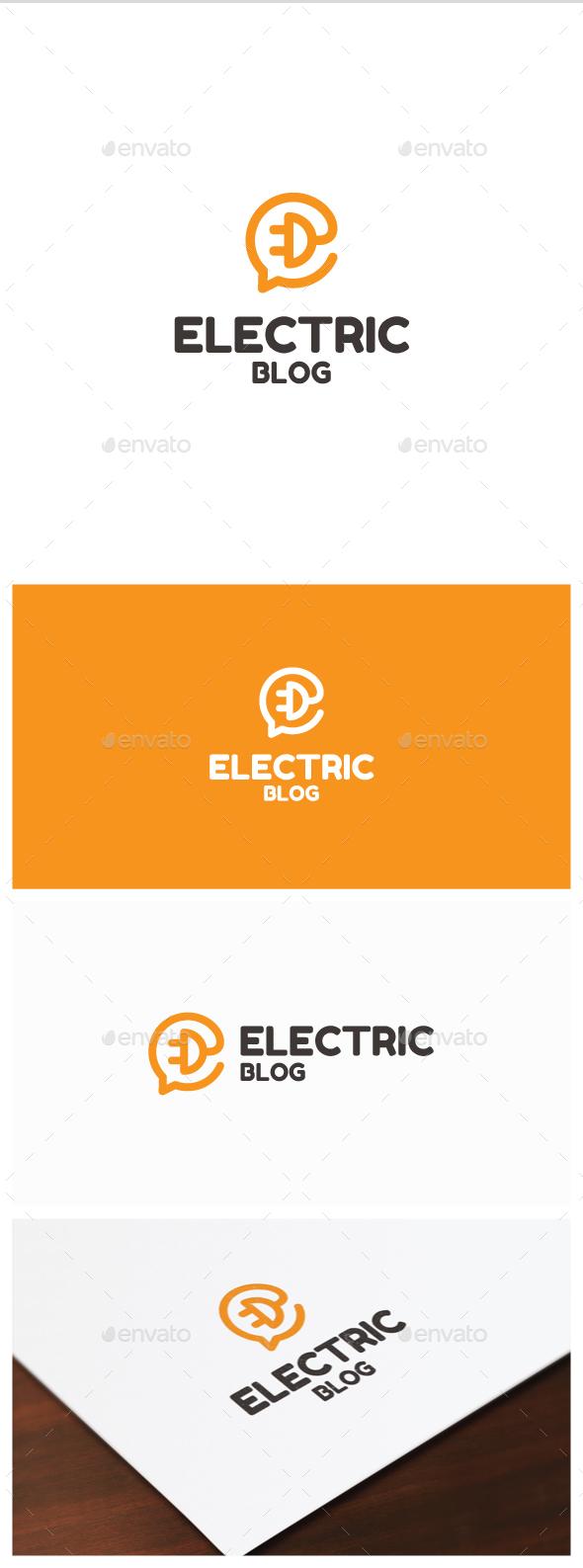 Electric Blogo Logo