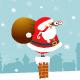 Santa with Binoculars - GraphicRiver Item for Sale