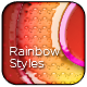 Rainbow Text Styles - GraphicRiver Item for Sale