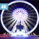 Paris Ferris Wheel by Night - VideoHive Item for Sale