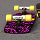 Marty McFly Valterra x Madrid skateboard  - 3DOcean Item for Sale