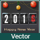 Happy New Year Greeting Card - GraphicRiver Item for Sale