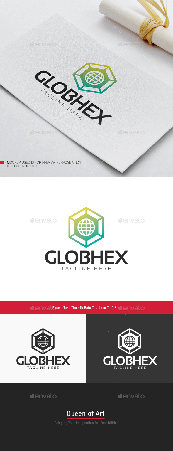 Glob Hex Logo