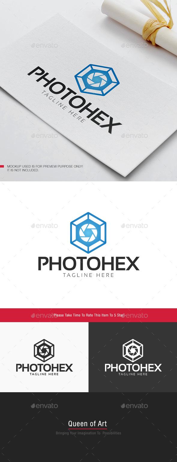 Photo Hex Logo