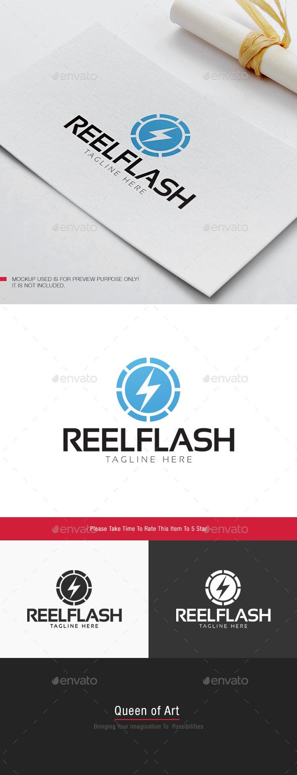 Reel Flash Logo