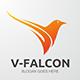 V-Falcon Logo - GraphicRiver Item for Sale