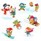 Winter Games Set - GraphicRiver Item for Sale