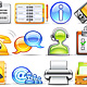 icon set n°3  - office theme - infinity series - GraphicRiver Item for Sale