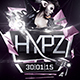 Hypz Flyer Template - GraphicRiver Item for Sale