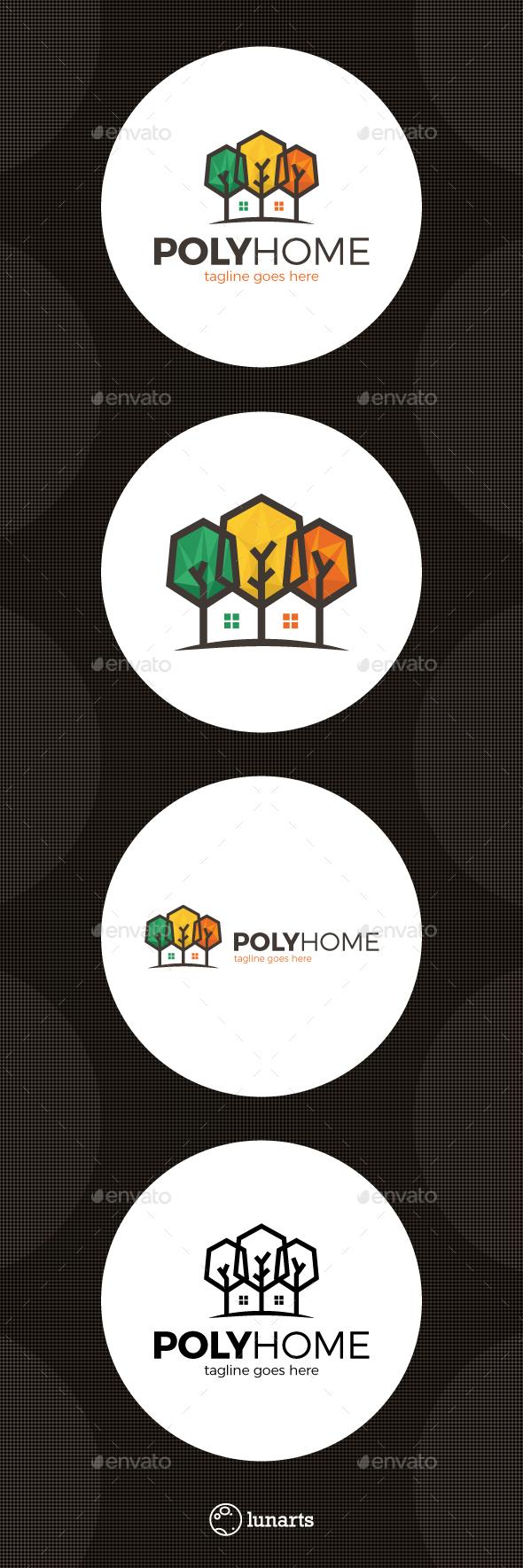 Poly Tree Home Logo