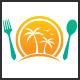 Oasis Restaurant Logo - GraphicRiver Item for Sale