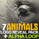 Animals Logo Reveal Pack - VideoHive Item for Sale