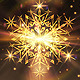 Golden Snowflake Christmas - VideoHive Item for Sale