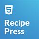 RecipePress - Food & Recipes Premium HTML Template - ThemeForest Item for Sale