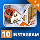 Multipurpose Instagram Posts 10 - GraphicRiver Item for Sale