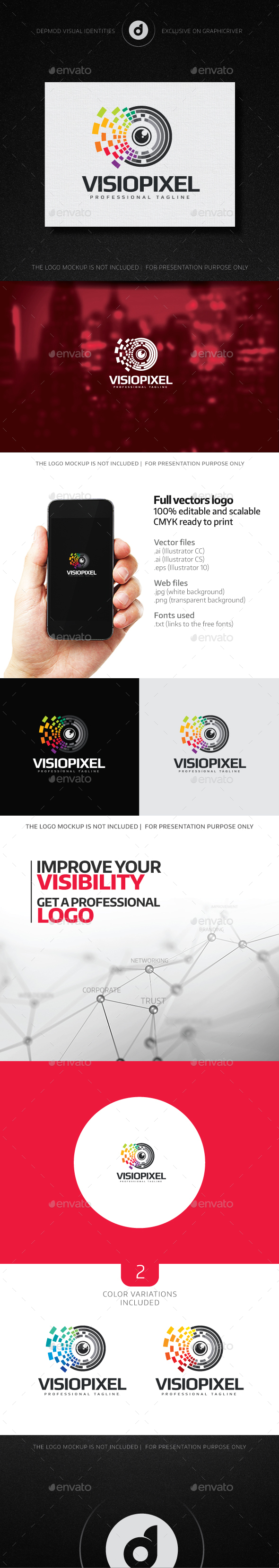VisioPixel Logo