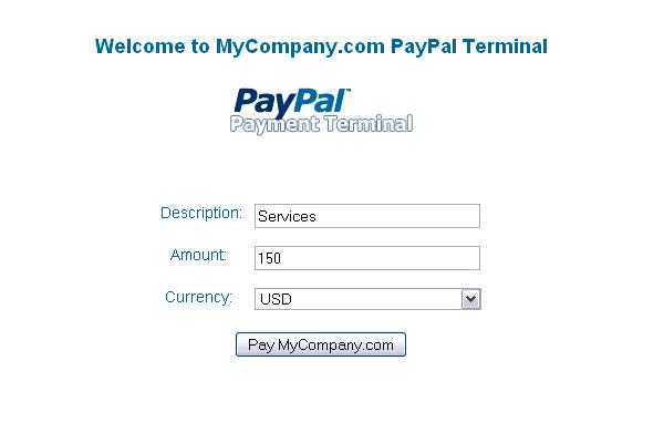 PayPal Payment Terminal