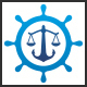 Maritime Law Logo - GraphicRiver Item for Sale