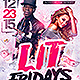 Lit Flyer Template - GraphicRiver Item for Sale