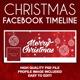 Christmas Facebook Timeline Cover Design - GraphicRiver Item for Sale