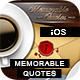 Memorable Quotes App With CMS - iOS [ 2020 Edition ] - CodeCanyon Item for Sale