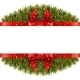 Christmas Border With Bow - GraphicRiver Item for Sale
