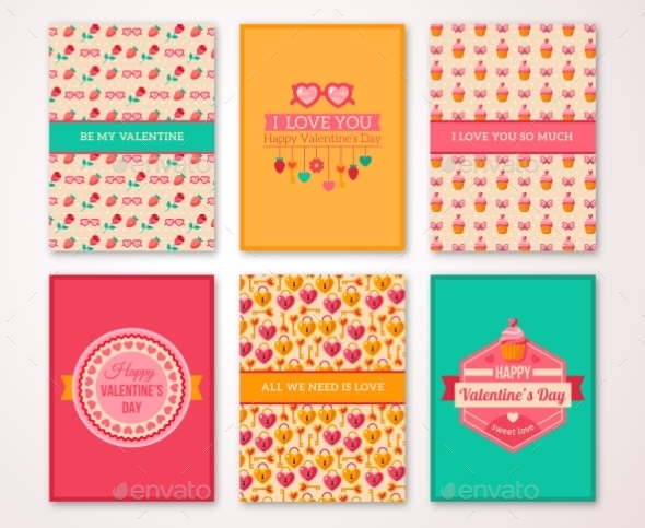 Valentines Day Poster, Banner, Menu Template