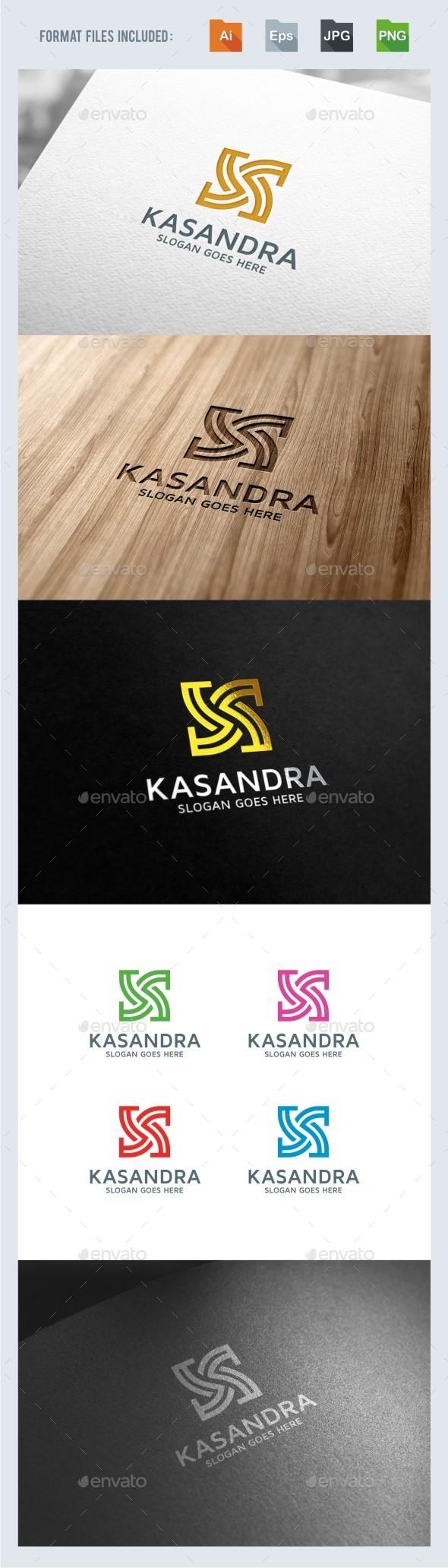 Kasandra - Abstract K Letter Logo Template