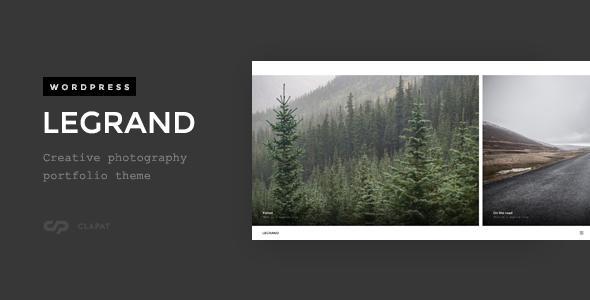 Legrand - Creative Photography Portfolio Theme