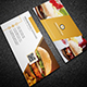 Simple Restaurant Business Card  - GraphicRiver Item for Sale
