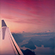 Flying Over Snowy Mountains And Lakes At Sunrise - VideoHive Item for Sale