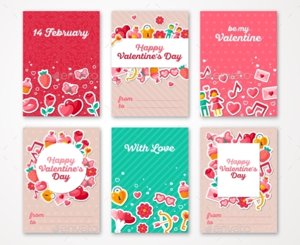 Valentines Day Poster, Banner, Greeting Card