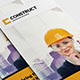 Construction 3fold Brochure InDesign Template - GraphicRiver Item for Sale