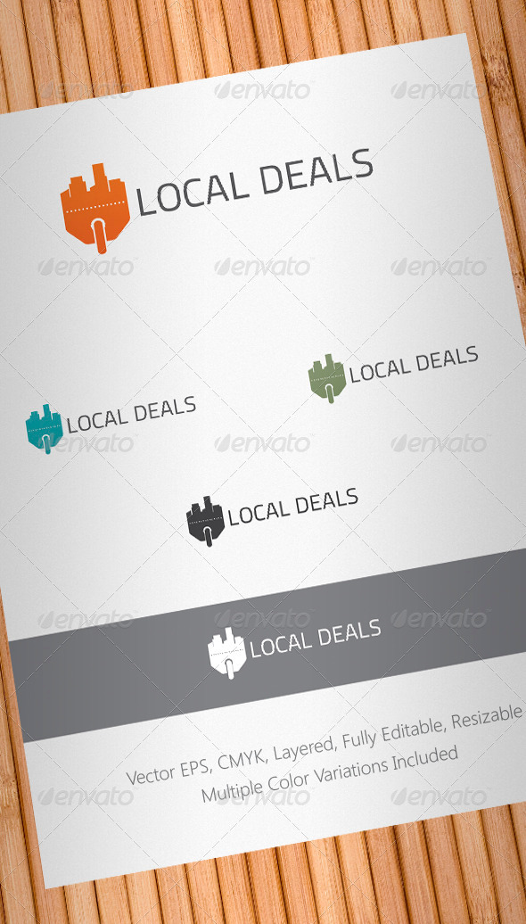 Local Deals Logo Template