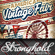 Vintage Carnival Fair Event Branding Templates - GraphicRiver Item for Sale