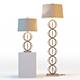 Arteriors Millenium Lamps - 3DOcean Item for Sale