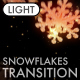 Cristmas Snowflakes Transition vol.4 - Light - VideoHive Item for Sale