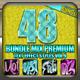48 Bundle Mix Premium Text Effect Styles Vol 9 - GraphicRiver Item for Sale