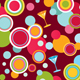 Abstract vector background with lines and circles - GraphicRiver Item for Sale