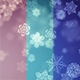 Snow Flakes Backgrounds - VideoHive Item for Sale