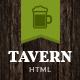Tavern   Pub, Restaurant & Brewery Site Template - ThemeForest Item for Sale