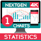 4K NextGen Resizable Statistics Charts Pack One - VideoHive Item for Sale