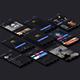 Dark UI Kit - GraphicRiver Item for Sale